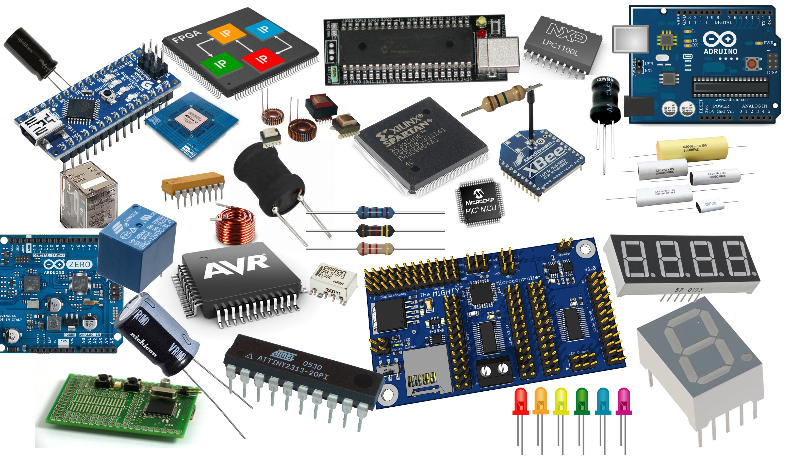 Where To Find A List Of All Electronic Components With Symbols ...